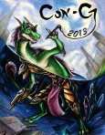 Runner-up/Co-winner of the Con-G 2013 cover art competition.