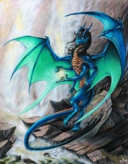 "Volaculeus Caelensis ""Winged Stinger of the Sky"" - Spiderdragon"