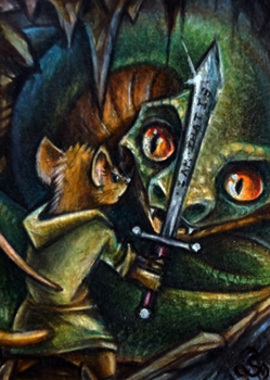 Asmodeus - Redwall ACEO! (Sold)